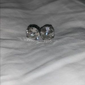 Clear sabika earrings